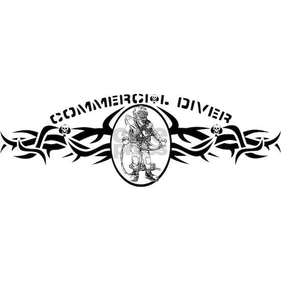 Mkv Navy Commercial diving tribal design