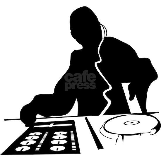 Dj Mixing Turntables Club Music Disc Jockey House