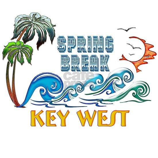 3D Palms Waves Sunset Spring Break KEY WEST
