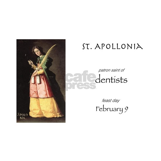 st. apollonia, patron saint of dentists