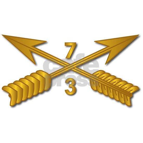 T-Shirt - SOF - 3rd Bn 7th SFG Branch wo Txt