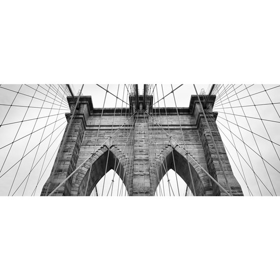 Brooklyn Bridge New York City close up architectur