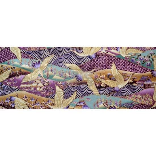 Flying Crane Fabric