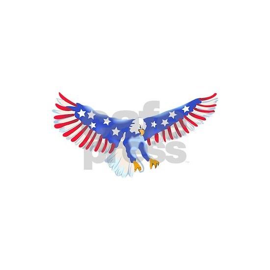 AMERICAN EAGLE IN FLIGHT