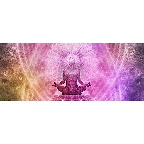Spiritual Yoga Meditation Zen Colorful