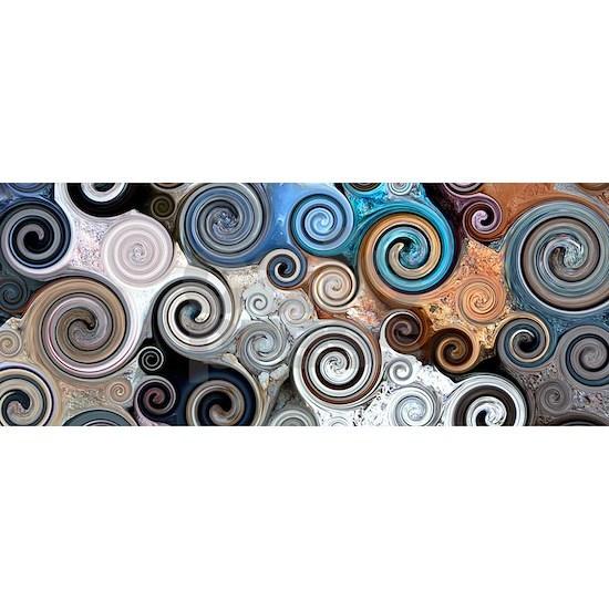 Abstract Rock Swirls