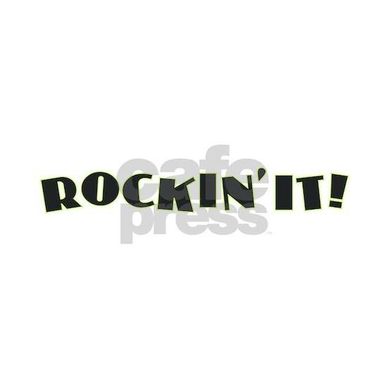 Rockin' It - Black w Green
