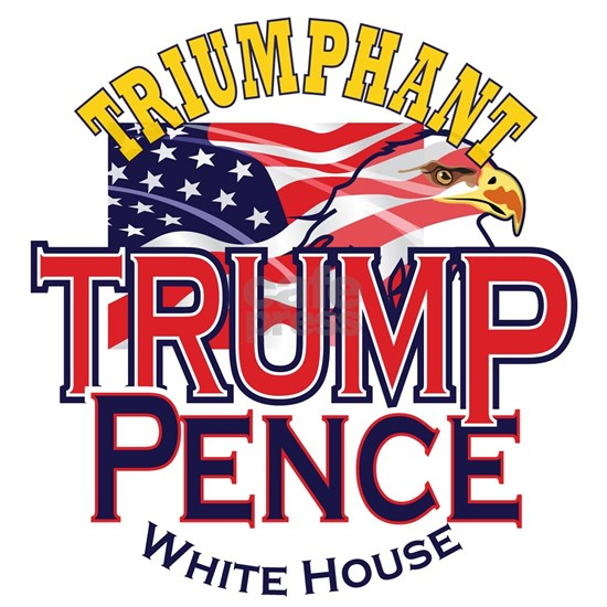Triumphant Trump Pence XLG Round