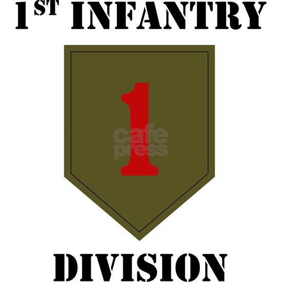 1st Infantry Division W/Text