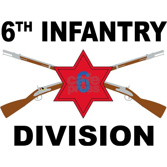 6th Infantry Division - Crossed Rifles