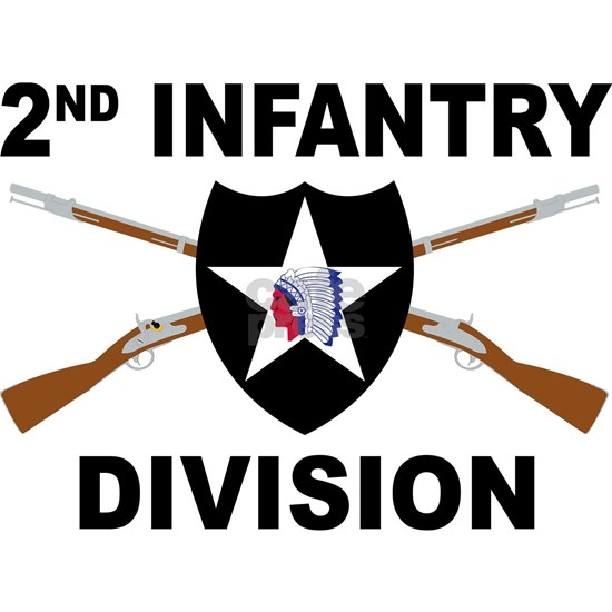 2nd Infantry Division - Crossed Rifles