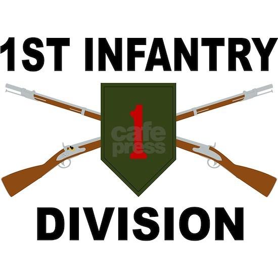 1st Infantry Division - Crossed Rifles