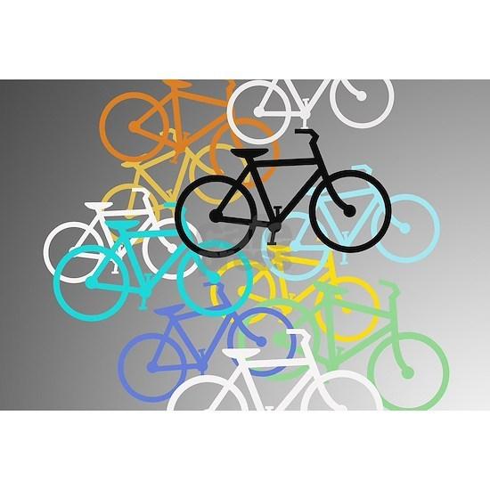 Colored Bikes Design