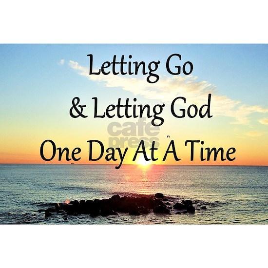 LETTING GOD