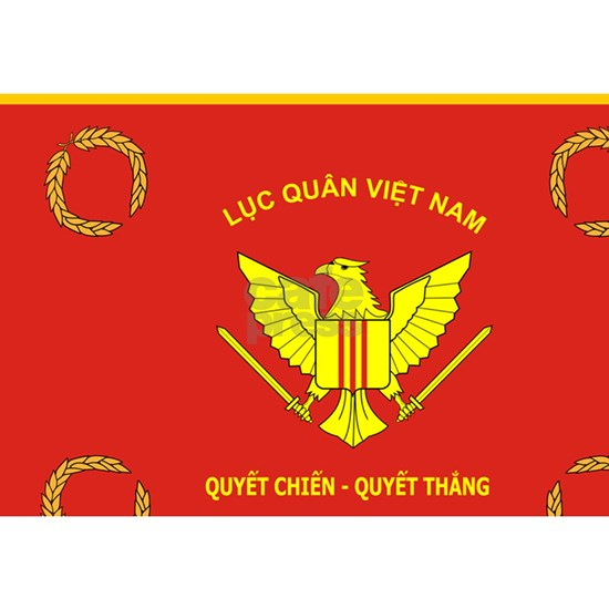 South Vietnam army flag