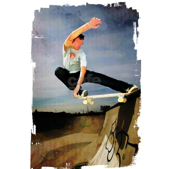 Skateboarding the Wall Edges