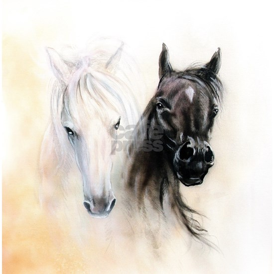Horses Canvas Painting