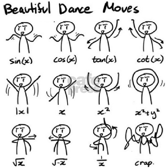 Beautiful (math) dance moves