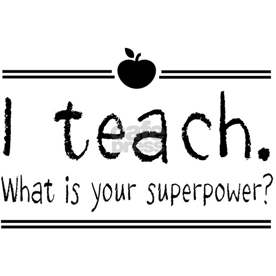 I teach what's your superpower 2