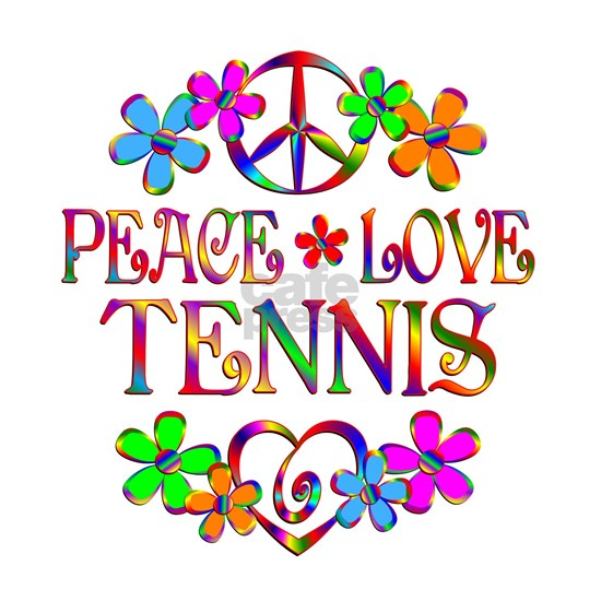Peace Love Tennis