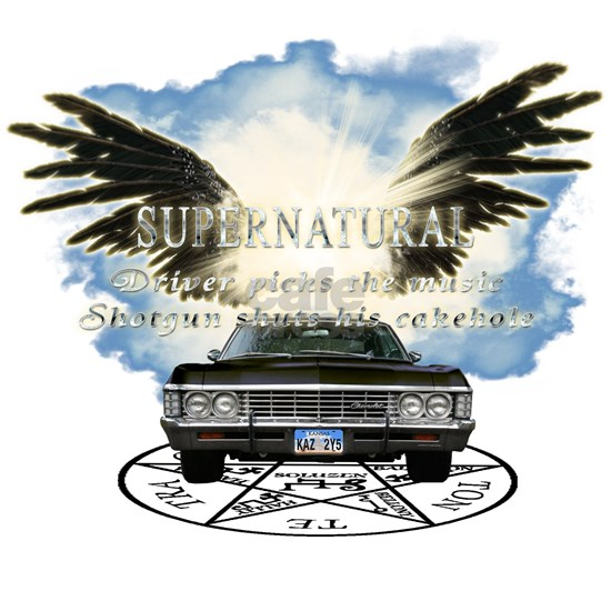 Supernatural driver picks the music Angel Wings