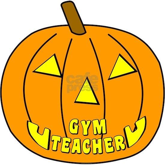 Gym Teacher Halloween Pumpkin