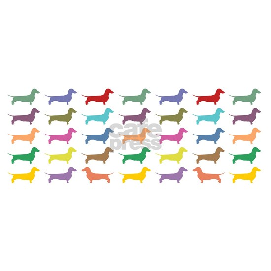 Colorful Dachunds