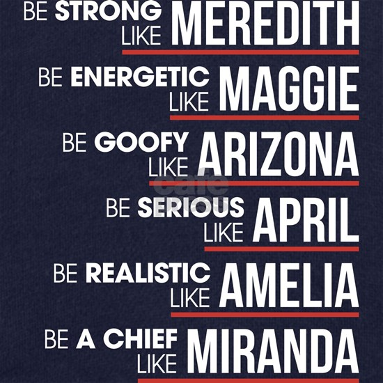 Be Strong like Meredith