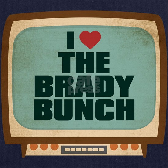 Retro I Heart The Brady Bunch