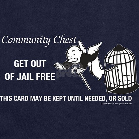 Monopoly - Get Out Of Jail Free