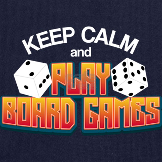 Keep Calm And Play Board Games | Table Game Tee Gi