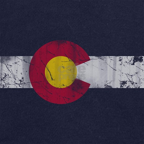 Vintage Colorado State Flag Fade