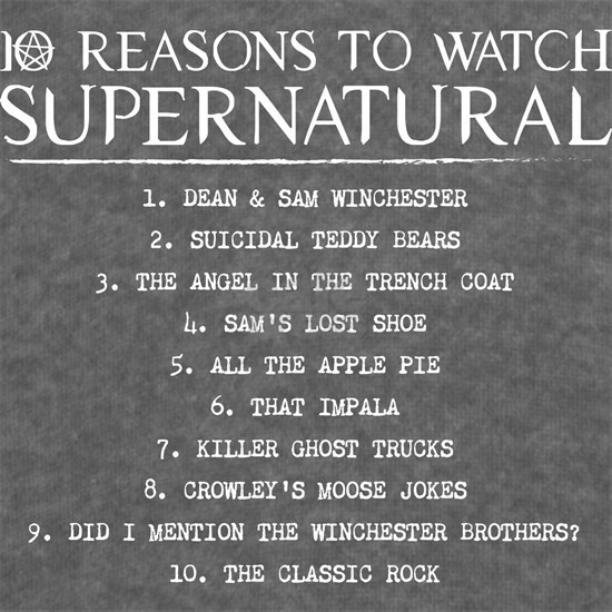Supernatural Reasons