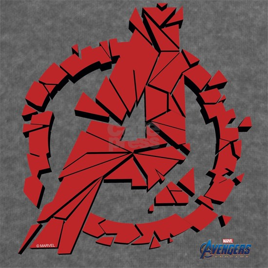 Avengers Endgame Red Logo