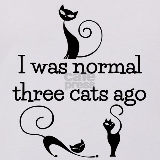 Three Cats Ago Humorous