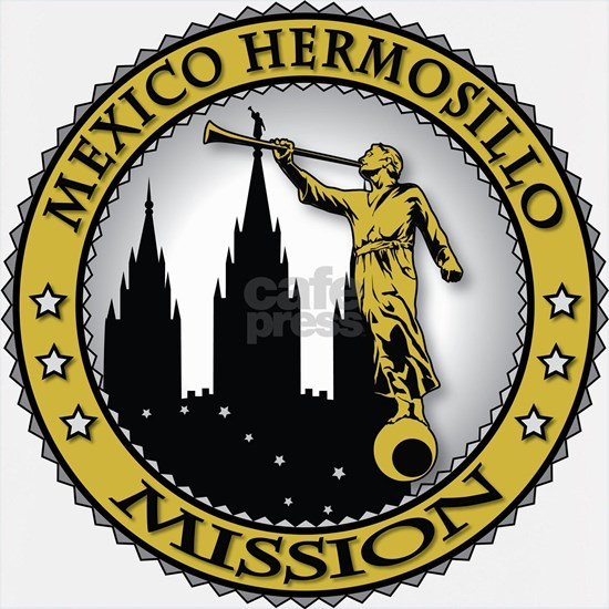 Mexico Hermosillo LDS Mission Angel Moroni Gold