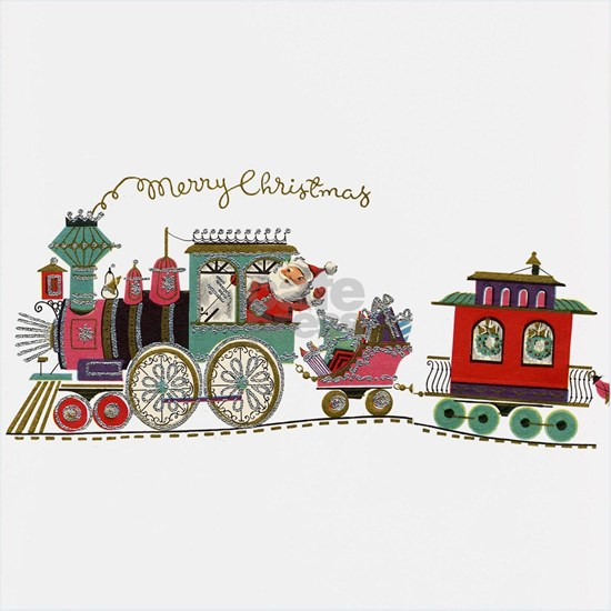 Christmas Santa Toy Train