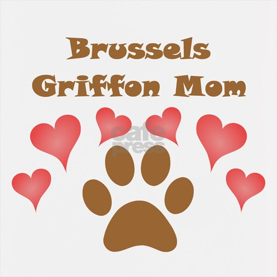 Brussels Griffon Mom