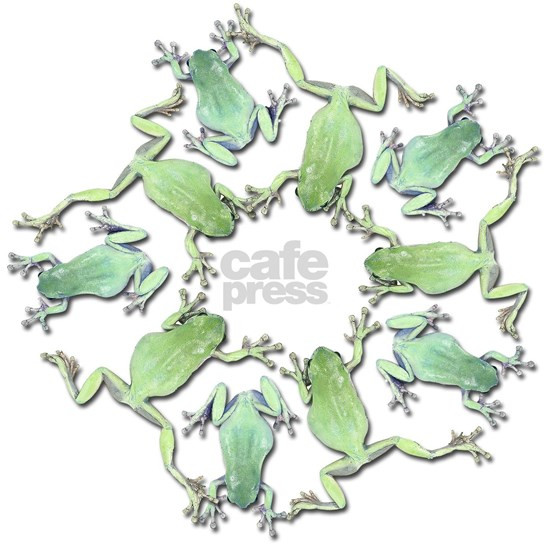 Circle of Whites Tree Frogs