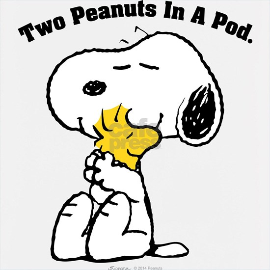 Two Peanuts In A Pod