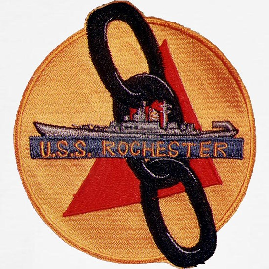 uss rochester patch