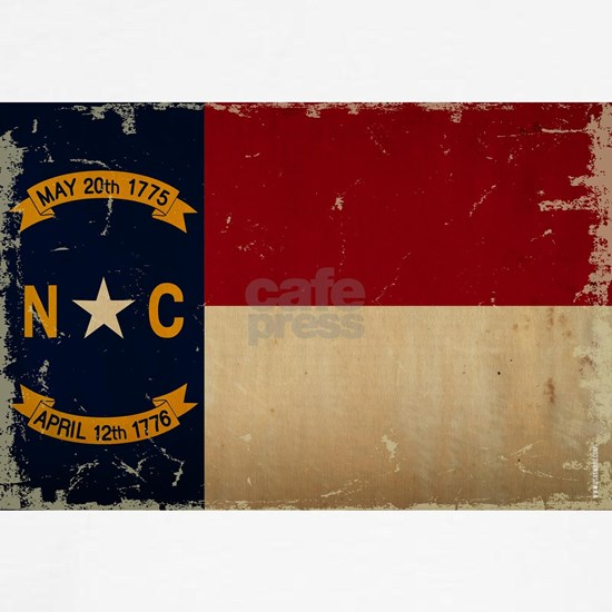 North Carolina State Flag VINTAGE
