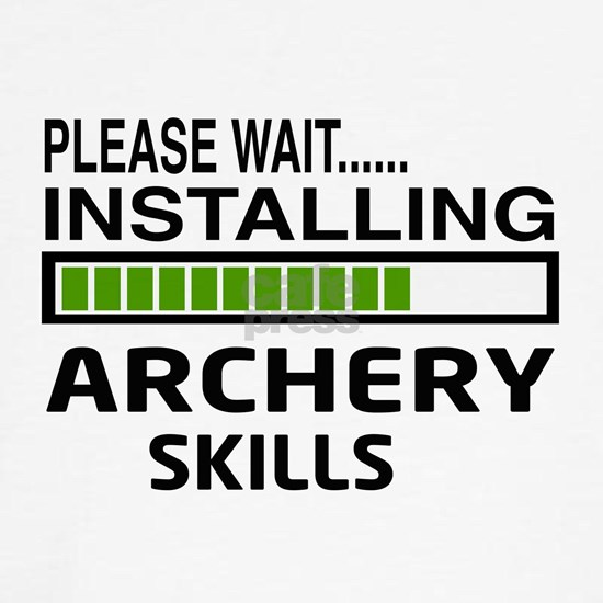 Please wait, Installing Archery skills