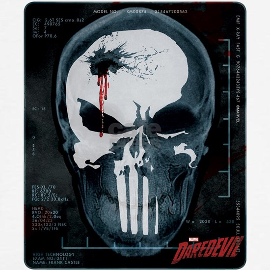 Punisher Skull X-Ray