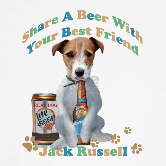 Jack Russell Share A Real Dogs Beer