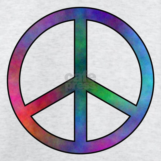 Multicolored Peace Sign