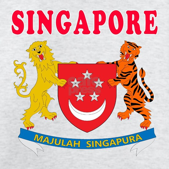 Singapore Coat Of Arms Designs