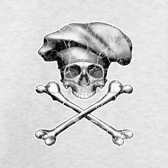 Chef Skull and Crossbones