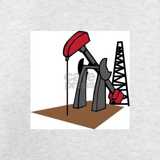 OIL RIG AND DERRICK
