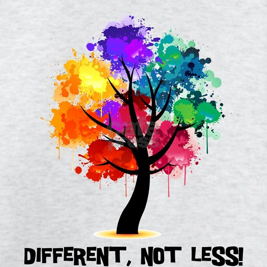Different, not less!